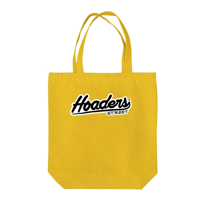 Hoarders Street(ホーダーズストリート)のHoaders Streetロゴ Tote bags