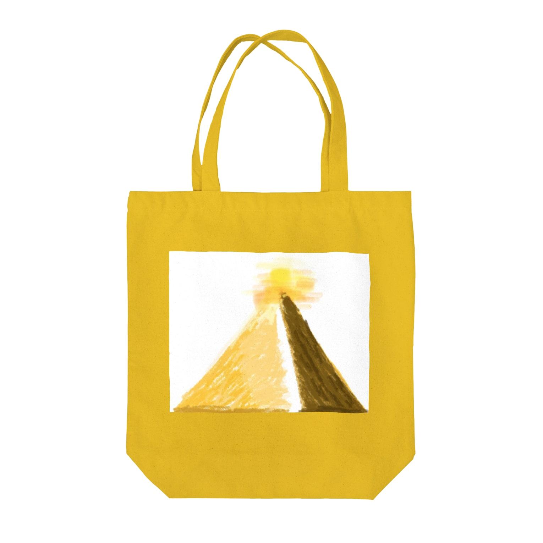 stecchiのダイヤモンド ピラミッド Tote bags