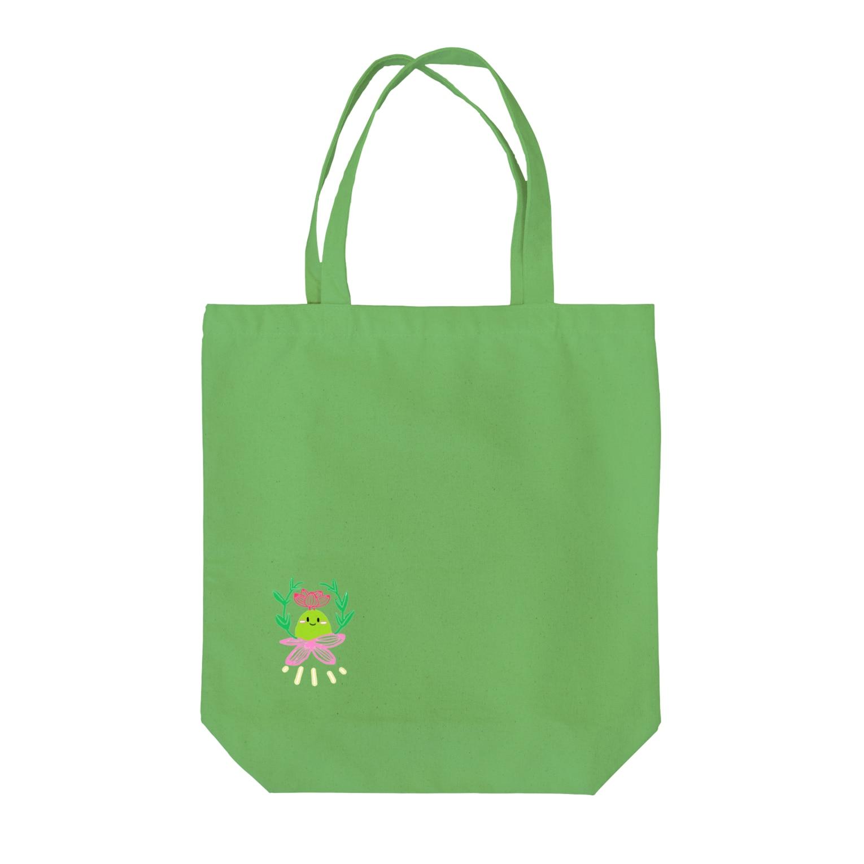 Rubiの多肉植物ブルゲリさん Tote bags