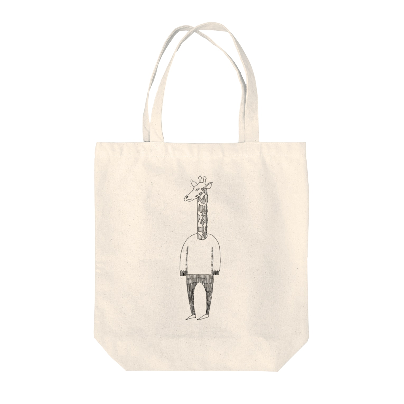 Tommy_is_mozukuの🦒 Tote bags