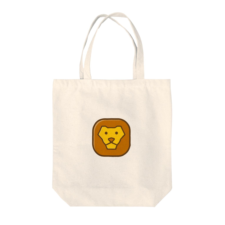willnetのSavanna lion face Tote bags