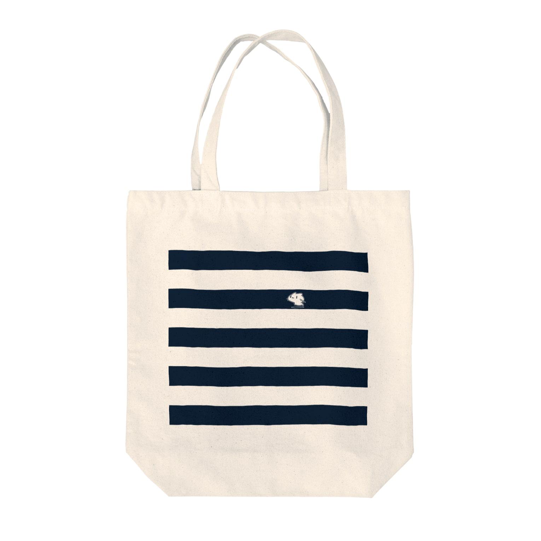 どどど素人のどどねこ-シマシマ- Tote bags