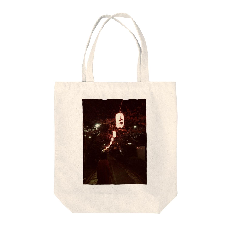 maruta11091109の夜桜 Tote bags