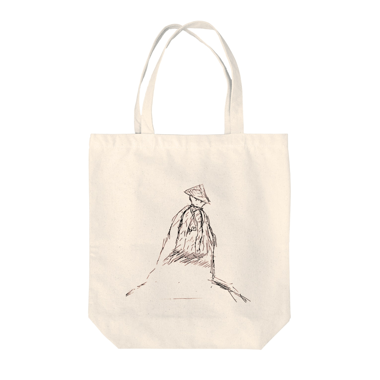地域の事のツワブキ童子 Tote bags