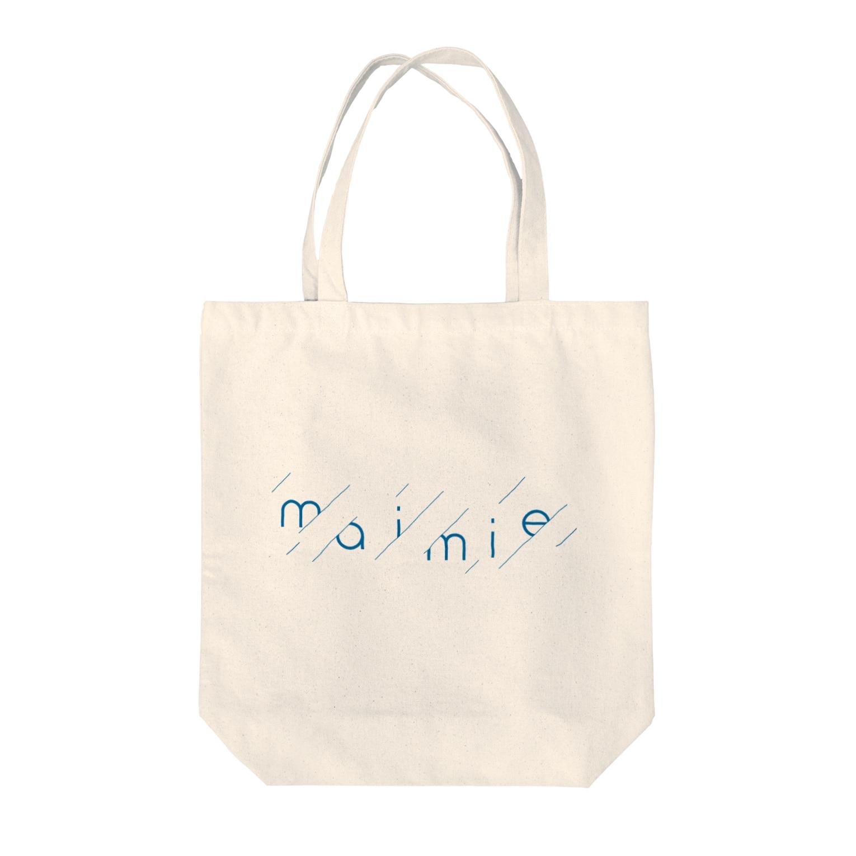 maimie WEB SHOPのmaimieちゃん雨模様 Tote bags