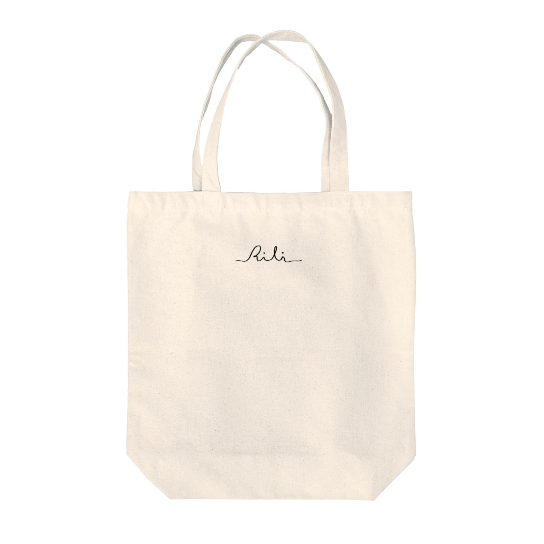 RiLiのロゴ Tote bags