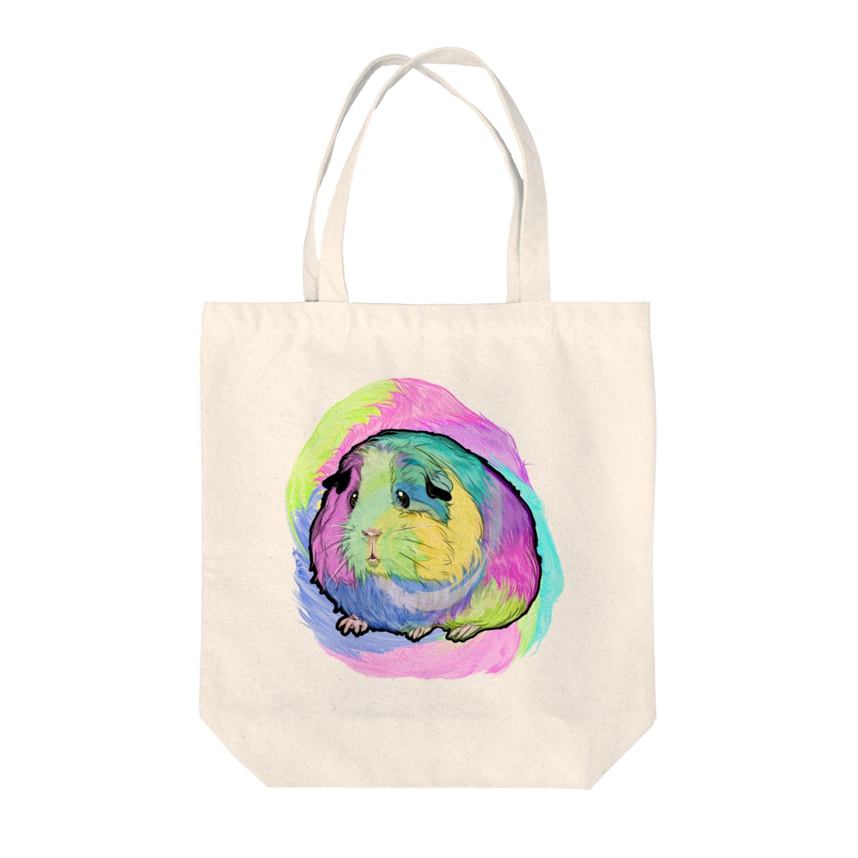 nins・にんずのおサイケモルちゃん Tote bags