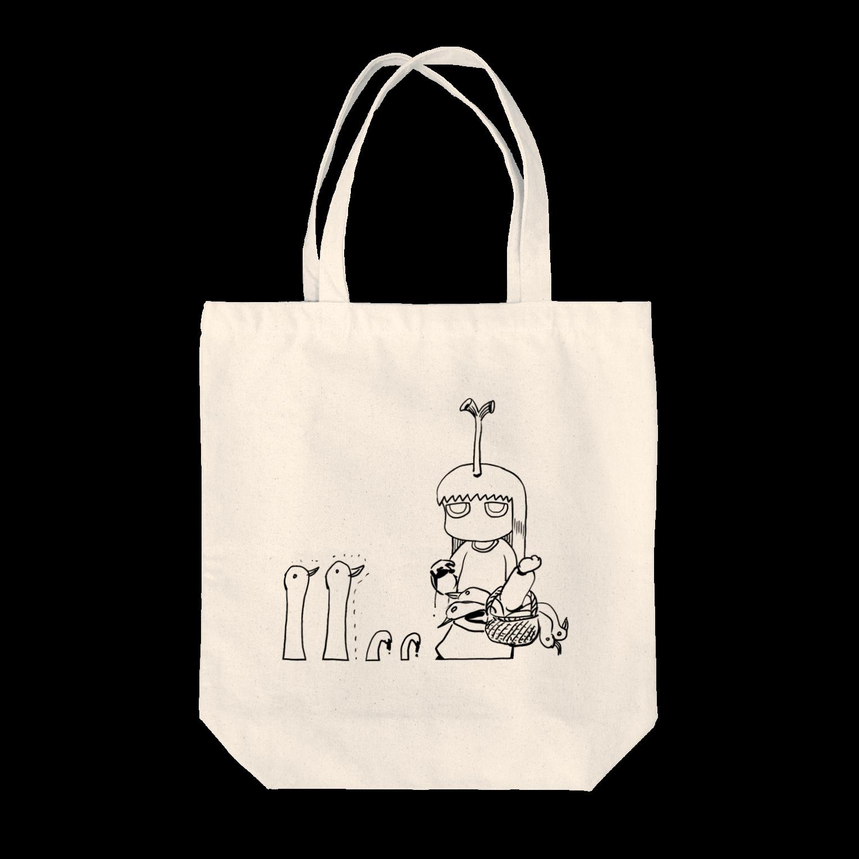小林銅蟲のneg1084aトートバッグ