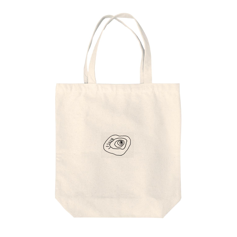 JUNYA_YOSHIDAのブラックホールくん Tote bags