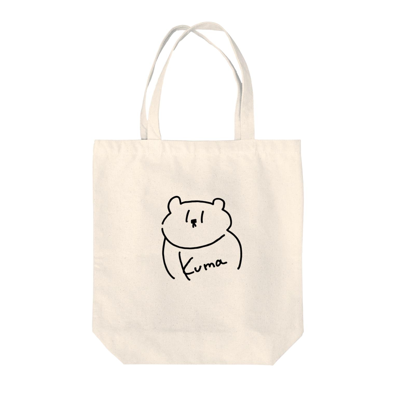 kagami102のKuma Tote bags