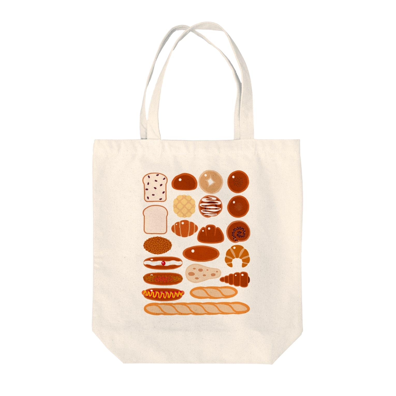 kimchinのパン屋さん Tote bags
