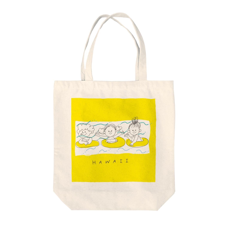 ishiのハワイ Tote bags