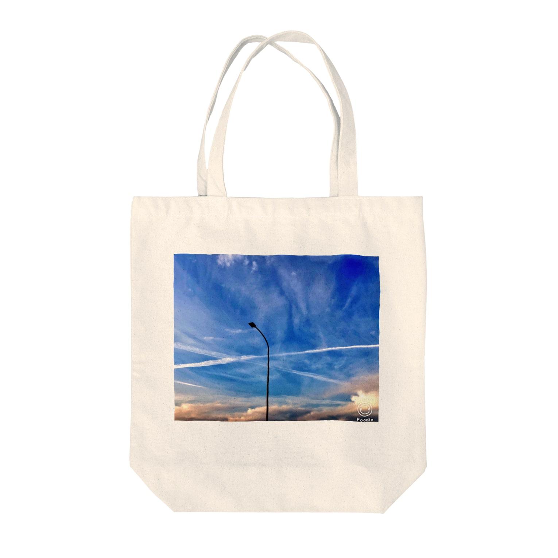kinokotakenoko2828のBlue sky  Tote bags