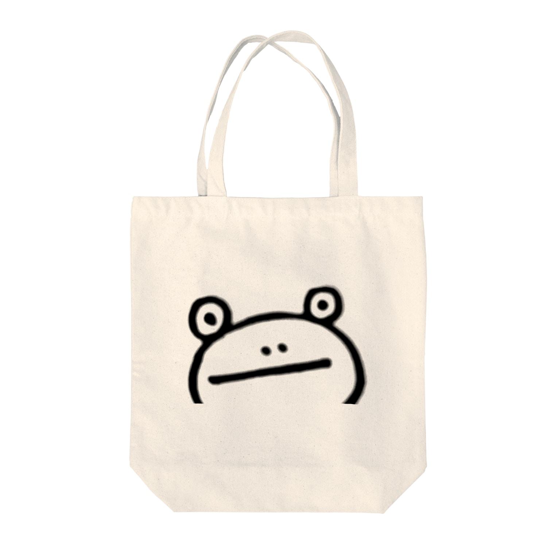 けろちかのじっ Tote bags