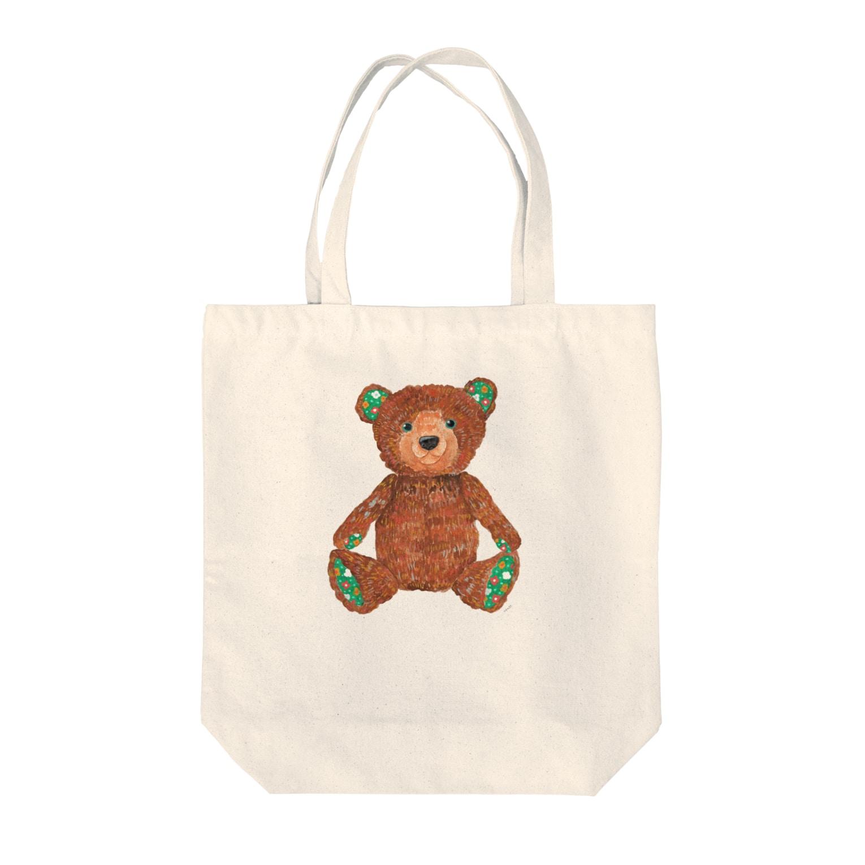 kuriko のハーセン Tote bags