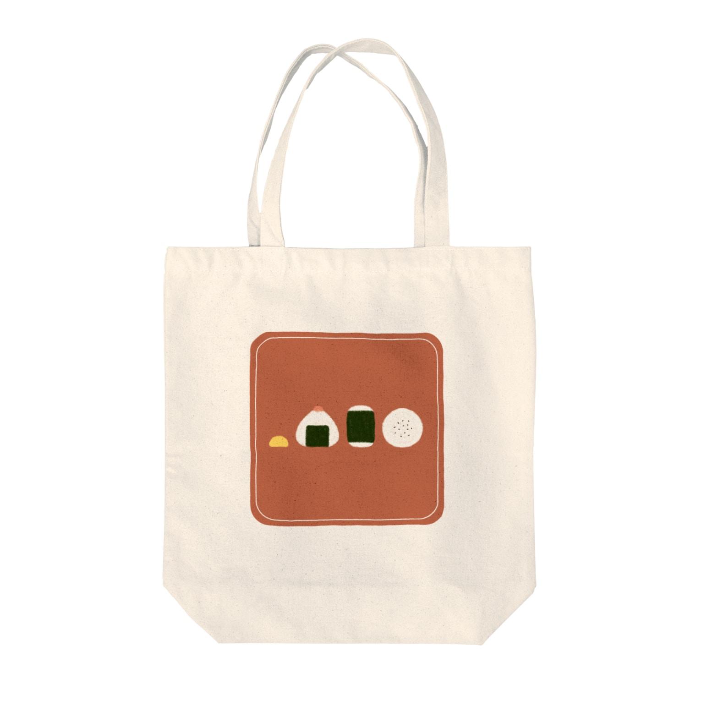 FUJIMAのおにぎり(オレンジ) Tote bags