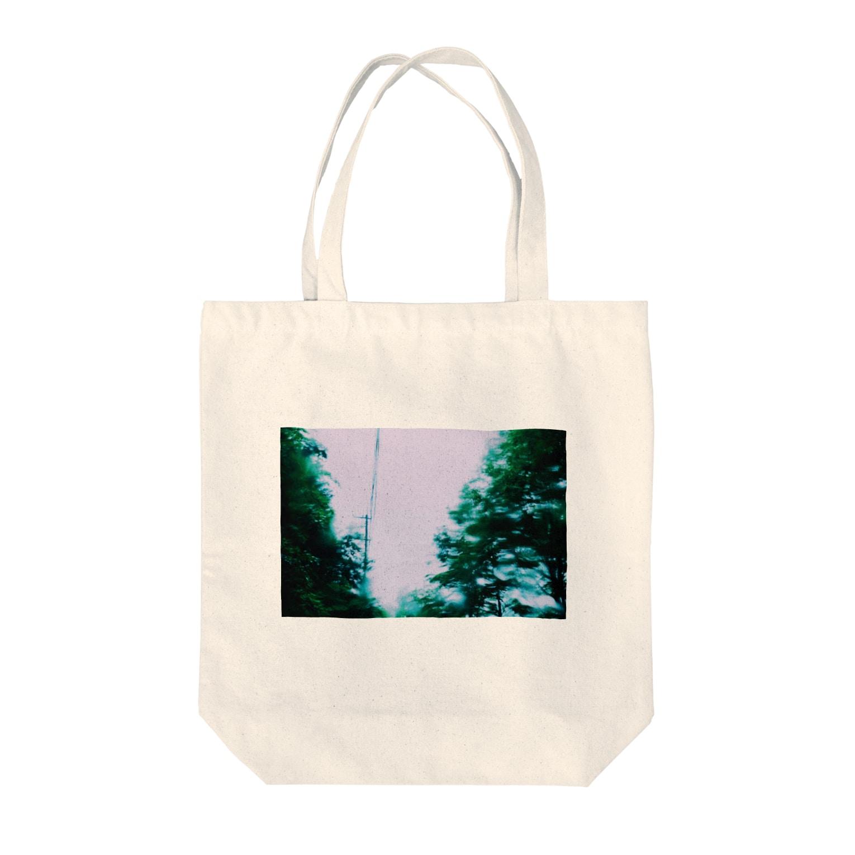 maki_fujiyamaのファントムソング Tote bags