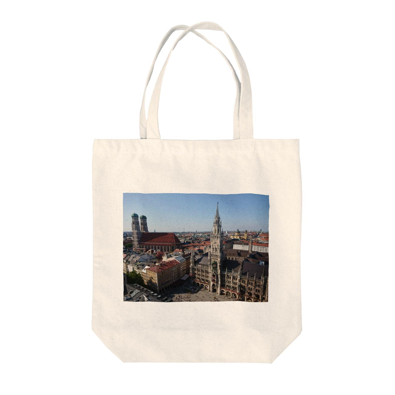 AllesGuteのミュンヘン マリエン広場 Tote bags