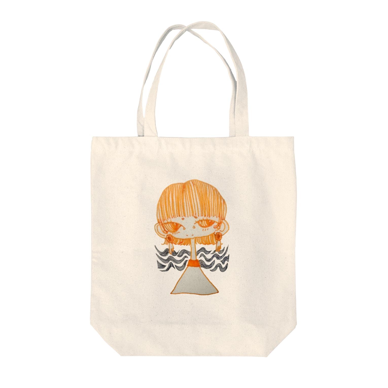 harappadedanceの女の子 Tote bags