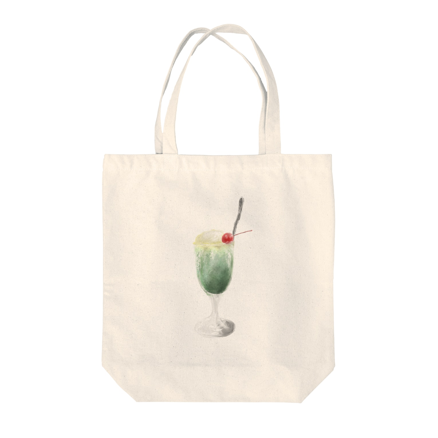 Unoの.ソーダフロート Tote bags