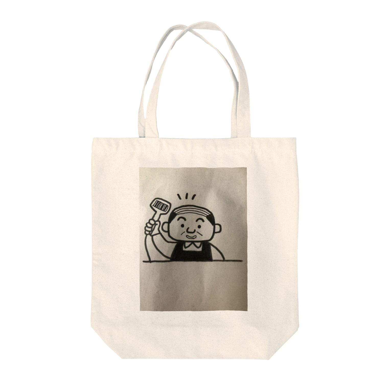 nico502のバーコードコンビニ店長 Tote bags