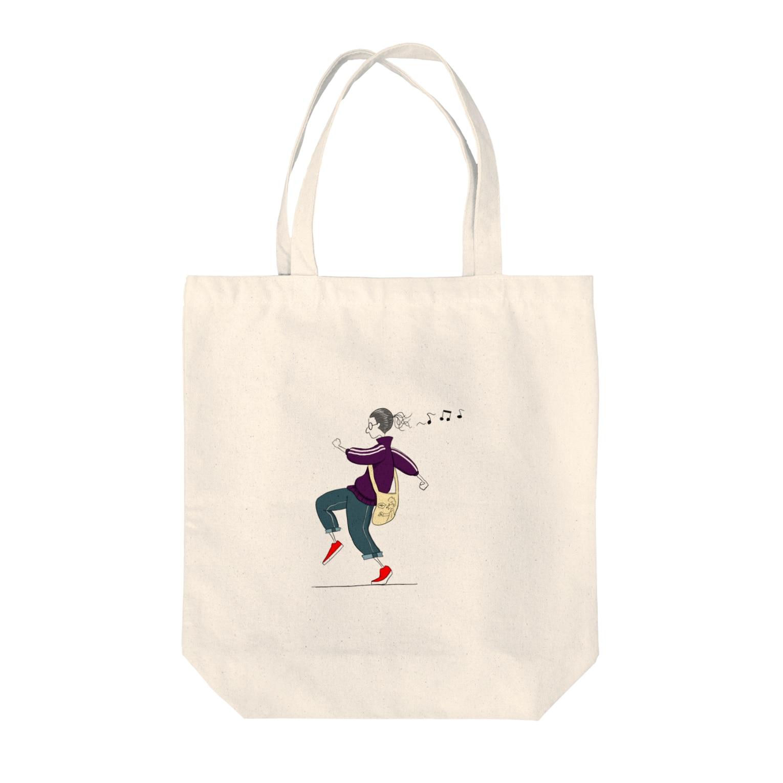 s_uppo_nのルンルン Tote bags