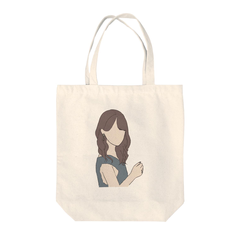 ayakaの黒島ちゃん風 Tote bags