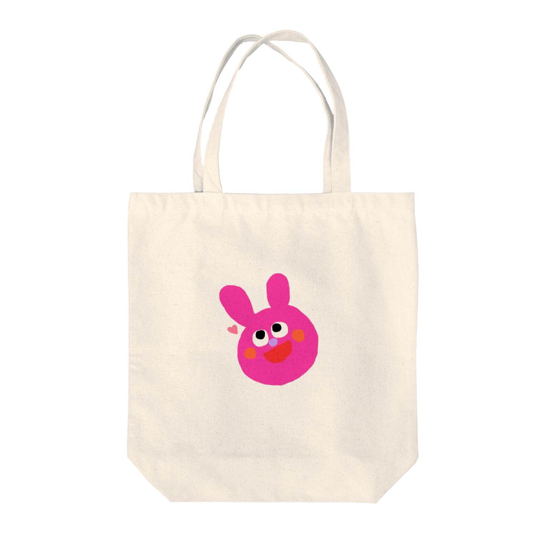 nyanchanのうさぎさん! Tote bags