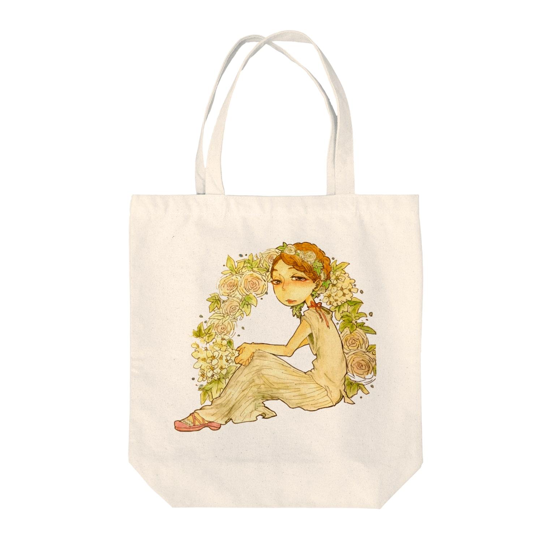 くらげや(仮)の花の名は知らねど君は美しい Tote bags