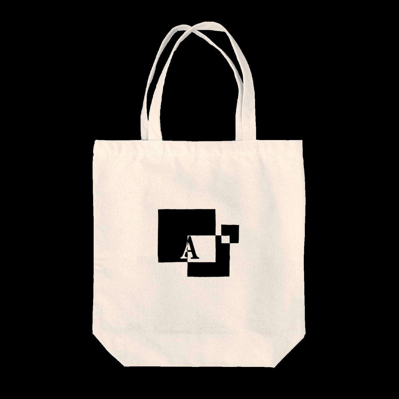 シンプルデザインアルファベットA トートバッグ