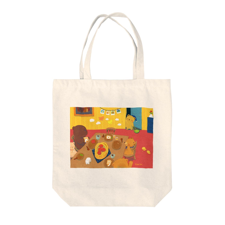 fumika/クリマ日曜M-174のおはよう Tote bags