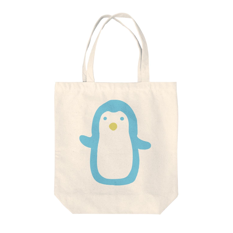 はるはらのペンギン Tote bags