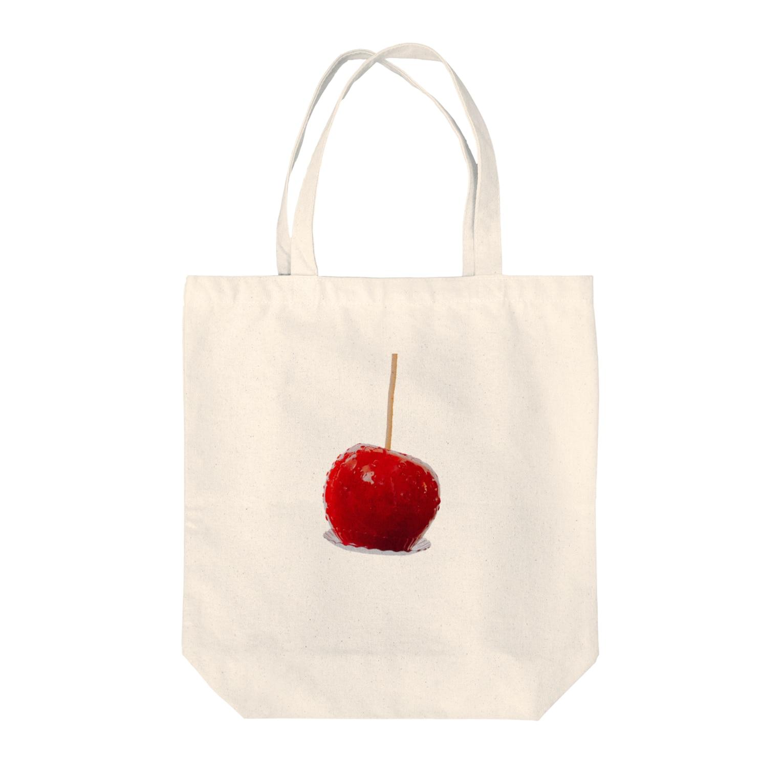 kirin.boutiqueのりんご飴🍎(やんちゃ) Tote bags