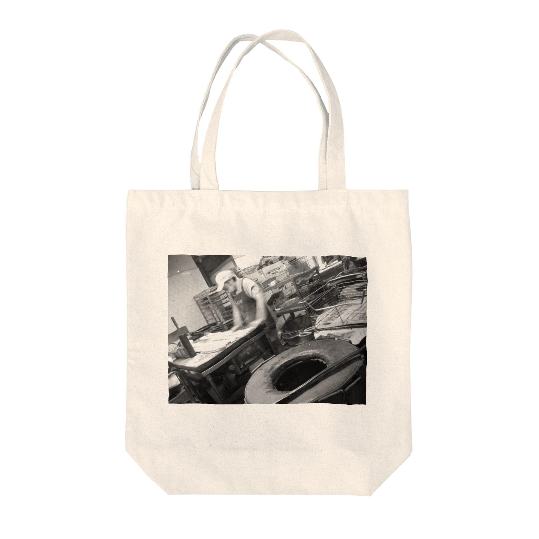 Tadakuni TaniのDay Making Tote bags