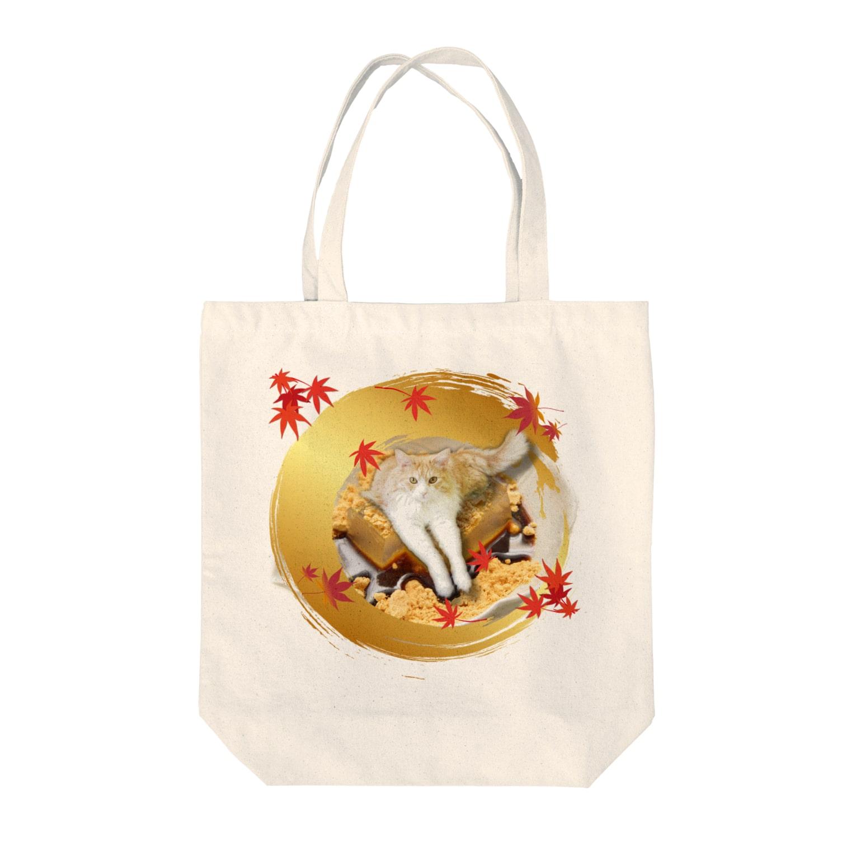 Cat Cafe ねころびのきなこ様 Tote bags