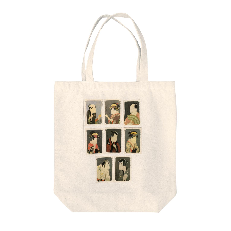安永峰夫の写楽E Tote bags