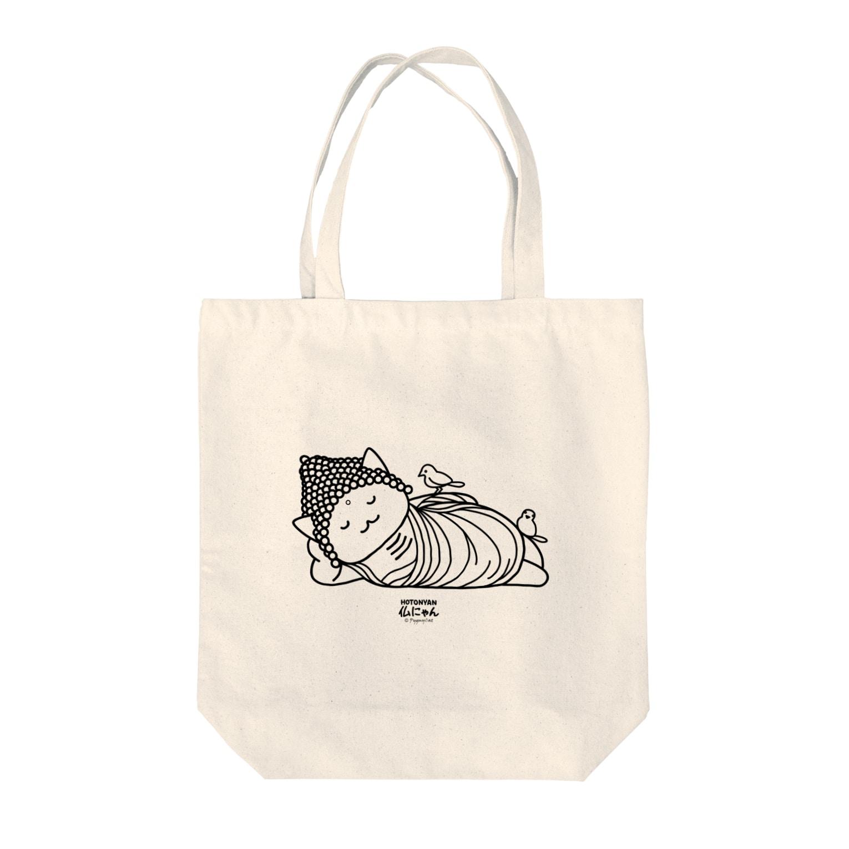PygmyCat suzuri店の仏にゃん Tote bags