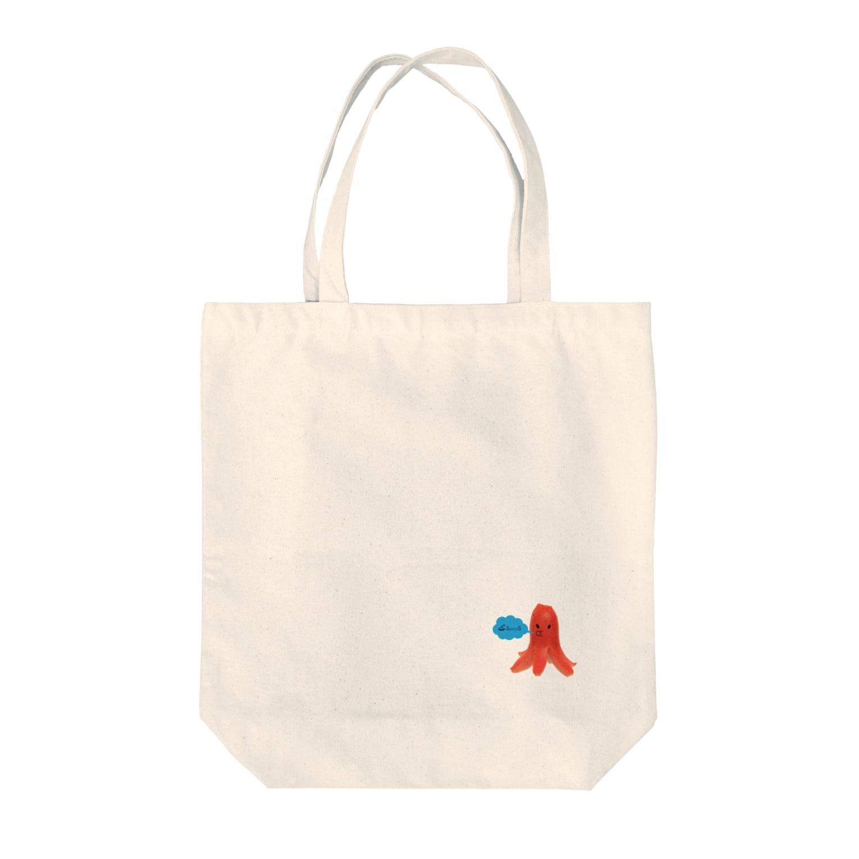 3pondSのタコウインナー Tote bags