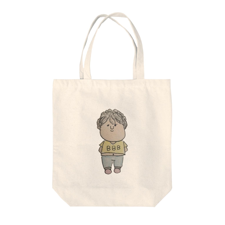 shi☺︎ shopのへいちゃん Tote bags