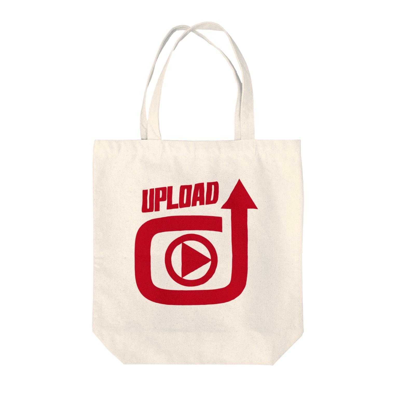 フォーヴァのUPLOAD Tote bags