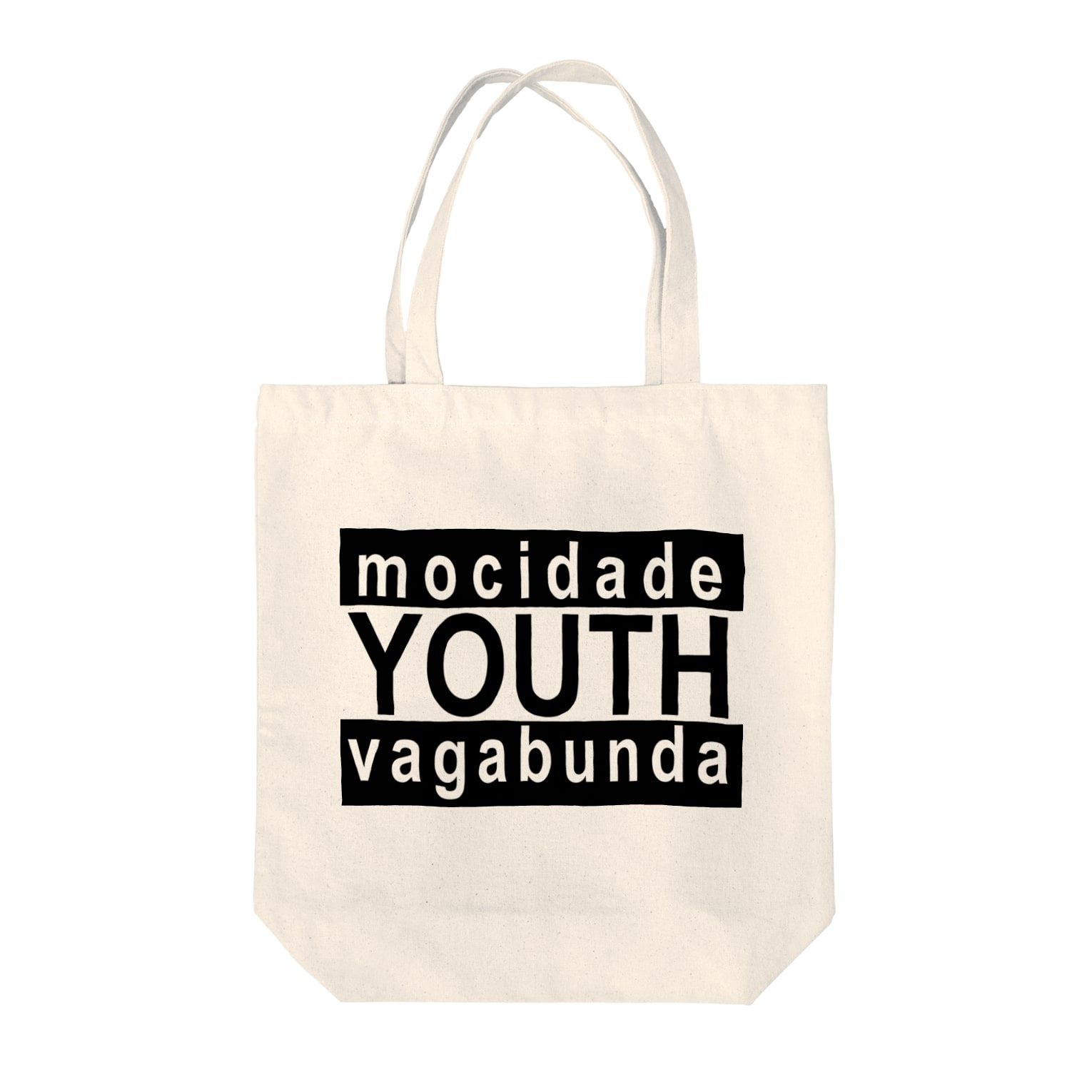 your mvのYOUTH_BK トートバッグ