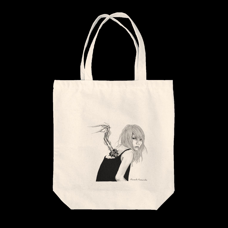 Masashi KaminkoのSora-tobiトートバッグ