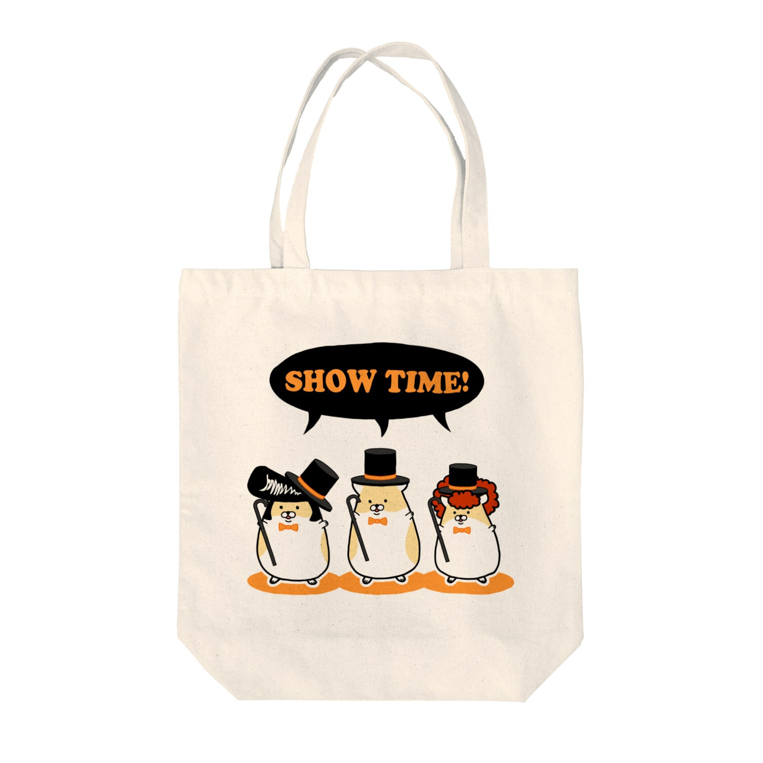 Piso Store on Suzuriのヤンハム SHOW TIME Tote bags