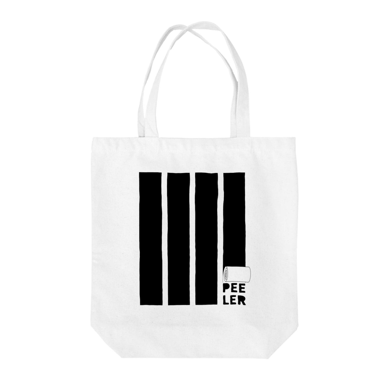 LOLのPEELER-08(BK) Tote bags