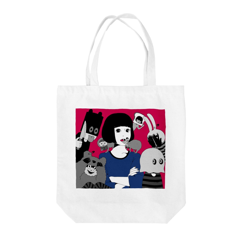 hare.のカワリモノ Tote bags