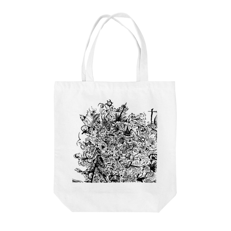 yanozawa12の脳内 Tote bags