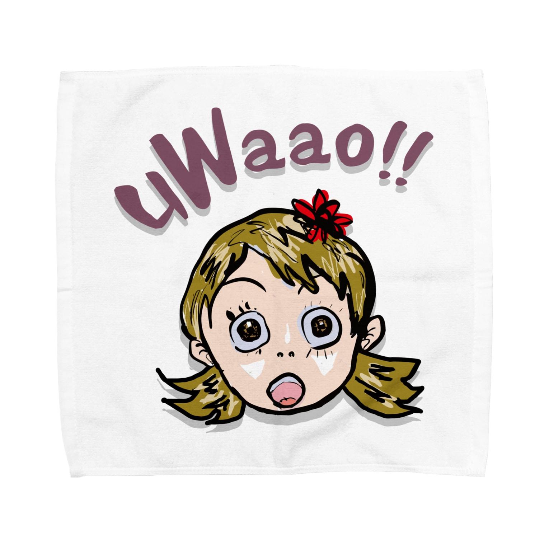 honey-designのuWaao Towel handkerchiefs