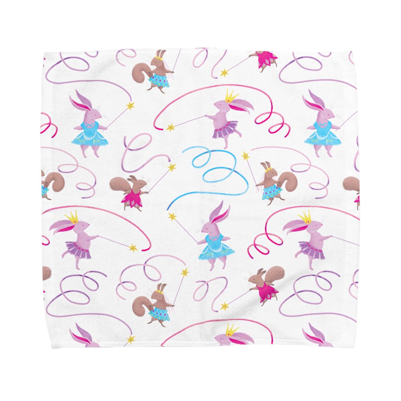 Fanfleecyのribbon dance Towel handkerchiefs