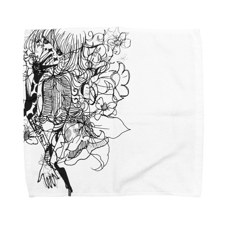Chig-Hugのsatsuki / HITOTOSE Towel handkerchiefs