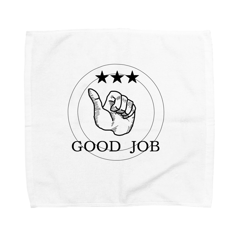 rokugatsunoumiのGOOD JOB Towel handkerchiefs